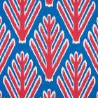 178561 BODHI TREE Blue Red Schumacher Fabric