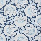77301 JACKIE APPLIQUE EMBROIDERY Blue Schumacher Fabric