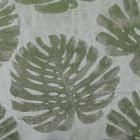A9 0002 PALM PALM LEAVES Deep Forest Green Scalamandre Fabric