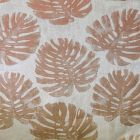 A9 0004 PALM PALM LEAVES Chic Salmon Scalamandre Fabric