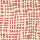 AC403-26 CRISS CROSS New Shrimp on Tint Quadrille Fabric