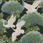 AF6593 Sprig & Heron York Wallpaper
