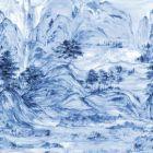 AF6598M Misty Mountain Mural York Wallpaper