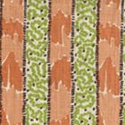 5060-07 BIJOU STRIPE Melon Green Brown Quadrille Fabric