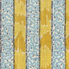 5060-04 BIJOU STRIPE Yellow Blue Quadrille Fabric