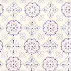 306304W CRAWFORD Multi Purples On Almost White Quadrille Wallpaper
