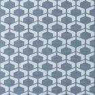 DB 0001 D297 CRAQUELE Blue Storm Scalamandre Fabric