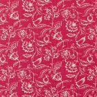 F0426/04 MARIE Raspberry Clarke & Clarke Fabric