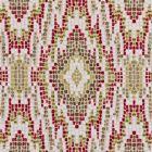F0691/02 MOSAIC Chintz Clarke & Clarke Fabric