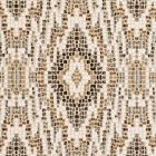 F0691/05 MOSAIC Natural Clarke & Clarke Fabric