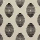 F0719/03 KINDU Charcoal Clarke & Clarke Fabric