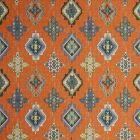 F0796/08 KONYA Flamingo Clarke & Clarke Fabric