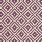 F0810/11 TAHOMA Plum Clarke & Clarke Fabric