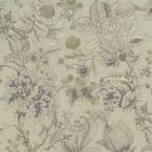 F1048/04 SISSINGHURST Heather Olive Clarke & Clarke Fabric