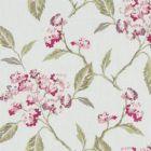 F1125/05 SUMMERBY Raspberry Clarke & Clarke Fabric
