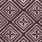 2490-10WP FIORENTINA Prune On Tint Quadrille Wallpaper