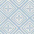 2490-21WP FIORENTINA Swedish Blue On Off White Quadrille Wallpaper