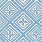 2490-43WP FIORENTINA Zibby Blue On Almost White Quadrille Wallpaper