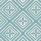 2490-44WP FIORENTINA Turquoise On Almost White Quadrille Wallpaper