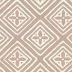 2490-46WP FIORENTINA Pumice On Almost White Quadrille Wallpaper
