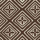 2490-52WP FIORENTINA Brown On Almost White Quadrille Wallpaper