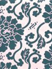 8230-09 FLORALS Navy on Tint Quadrille Fabric