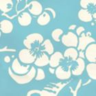 3015-07AWP HAWTHORNE REVERSE New Blue On Almost White Quadrille Wallpaper