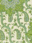 HC1970C-06 KASHMIR EXOTIQUE Greens  Quadrille Fabric