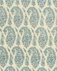 HC1960C-09 KASHMIR PAISLEY PETITE Blue Quadrille Fabric