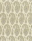 HC1960C-03 KASHMIR PAISLEY PETITE Gray Quadrille Fabric