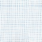 AP403-15 CRISS CROSS Swiss Blue On Almost White Quadrille Wallpaper