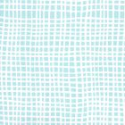 AP403-08PV CRISS CROSS Turquoise On White Vinyl Quadrille Wallpaper