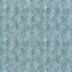 75920 DIAMOND STRIE Peacock Schumacher Fabric