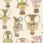 109/12057-CS KHULU VASES Cream Multi Cole & Son Wallpaper