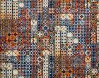 H0 00013463 AZULEJOS Mandarine Scalamandre Fabric