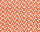 PS 00025127 WHITE WATER Tangerine Old World Weavers Fabric