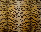 26167MM-001 TIGRE Ivory Gold Black Scalamandre Fabric