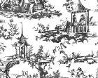 SC 0002WP88357 SUMMER PALACE Charcoal Scalamandre Wallpaper