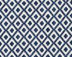 27098-004 MALAY IKAT WEAVE Indigo Scalamandre Fabric
