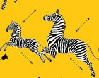 SC 0006WP81388M ZEBRAS Yellow Scalamandre Wallpaper
