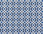 WR 00012995 OAK BLUFF Indigo Old World Weavers Fabric