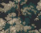 WSB 00810444 RAPHAEL Black Dark Green Lh Sandberg Wallpaper