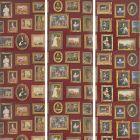 AMW10031-9 GALLERY Red Kravet Wallpaper