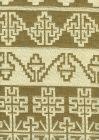 010952T ADOBE HANDSTITCH Greige Ecru Quadrille Fabric