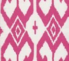 7230-07 AQUA II Magenta on White Quadrille Fabric