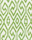 7240-03 AQUA IV Jungle Green on White Quadrille Fabric