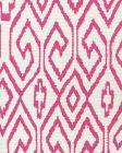 7240-07 AQUA IV Magenta on White Quadrille Fabric