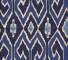 7210-07 AQUARIUS Navy Royal on Tint Quadrille Fabric