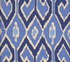 7210-06 AQUARIUS New Navy French Blue on Cream Quadrille Fabric