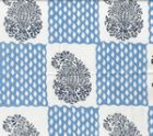 5090-03WSUN BANGALORE Navy French Blue Quadrille Fabric
